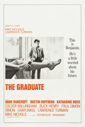 "Movie Posters:Comedy, The Graduate (Embassy, 1968). One Sheet (27.5"" X 41"") Style A.. ..."