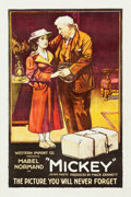 """Movie Posters:Comedy, Mickey (Western Import, 1918). British One Sheet (27.25"""" X 41"""")....."""