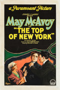 "Movie Posters:Drama, The Top of New York (Paramount, 1922). One Sheet (27.25"" X 41"").. ..."