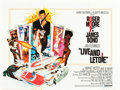 "Movie Posters:James Bond, Live and Let Die (United Artists, 1973). British Quad (30"" X 40"")....."