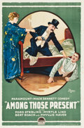 "Movie Posters:Comedy, Among Those Present (Paramount, 1919). One Sheet (28"" X 42.25"")....."