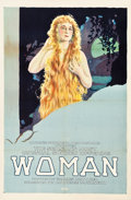 "Movie Posters:Drama, Woman (Maurice Tourneur Productions, 1918). One Sheet (27.5"" X 41.5"").. ..."