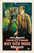 "Movie Posters:Comedy, Why Men Work (Pathé, 1924). One Sheet (27"" X 41"").. ..."