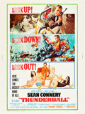 "Movie Posters:James Bond, Thunderball (United Artists, 1965). Poster (30"" X 40"").. ..."
