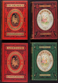 Books:Literature Pre-1900, William Michael Rossetti, editor. Four Volumes of Poetry inDecorative Bindings. London: E. Moxon, Son, & Company [and]Ward... (Total: 4 Items)