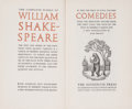 Books:Literature Pre-1900, William Shakespeare. Ivor Brown, introduction. The CompleteWorks of William Shakespeare. London: The Nonesuch Press...(Total: 4 Items)