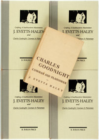 J. Evetts Haley. Charles Goodnight: Cowman and Plainsman. <