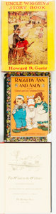 Books:Children's Books, [Children's Literature]. Trio of Books. Various publishers anddates circa 1930.... (Total: 3 Items)