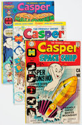 Bronze Age (1970-1979):Cartoon Character, Casper the Friendly Ghost Related File Copy Long Box Group (Harvey,1970s) Condition: Average NM-....