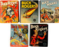 Big Little Book:Miscellaneous, Big Little Book - Buck Rogers Group (Whitman, 1933-40).... (Total:5 Items)
