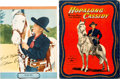 Memorabilia:Movie-Related, Hopalong Cassidy/William Boyd Memorabilia Group (c. 1950)....(Total: 2 Items)