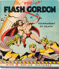 "Big Little Book:Science Fiction, The ""Pop-Up"" Flash Gordon #210 - Tournament of Death (Pleasure Books, 1935) Condition: VF/NM...."