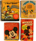 Big Little Book:Miscellaneous, Disney and Others Big Little Book Humor Group of 8 (Whitman,1934-50).... (Total: 8 Items)
