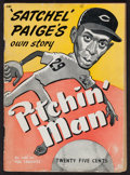 "Baseball Collectibles:Publications, 1948 ""Pitchin' Man"" Paperback Book - Satchel Paige's Own Story...."