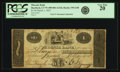 Obsoletes By State:Connecticut, Hartford, CT - Phoenix Bank $1 March 1, 1822 CT-195 G58. PCGS Very Fine 20.. ...