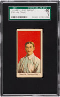 Baseball Cards:Singles (Pre-1930), 1916 D303 Mothers' Bread Hal Chase SGC 40 VG 3. ...