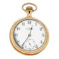 Timepieces:Pocket (post 1900), Ball 21 Jewel Series 333 Open Face Pocket Watch. ...