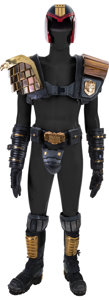 "Movie/TV Memorabilia:Costumes, A Set of Costume Armour and a Prop Gun from ""Judge Dredd.""..."