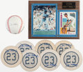 Baseball Collectibles:Others, Don Mattingly Signed and Unsigned Lot of 9....