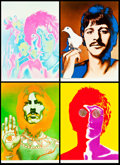 "Movie Posters:Rock and Roll, Beatles Special Look Magazine Prints by Richard Avedon (NEMSEnterprises, Ltd., 1967). Prints (4) (22.5"" X 31"").. ... (Total: 4Items)"