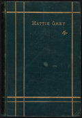 Books:Literature Pre-1900, [George Dalziel]. INSCRIBED. Mattie Grey and Other Poems by GD. London: Printed for Private Distribution, 1873....
