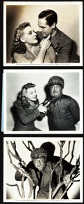"Movie Posters:Horror, The Wolf Man (Universal, 1941). Photos (6) (8"" X 10"").. ... (Total:6 Items)"