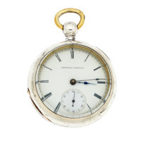 National Watch Co. 18 Size Pocket Watch