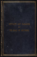 Books:Art & Architecture, [James Carnegie]. Earl of Southesk. Britain's Art Paradise. Or, Notes on Some Picture in the Royal Academy, MDCCCL...