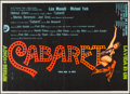 """Movie Posters:Musical, Cabaret (20th Century Fox, 1972). Argentinean Half Sheet (20.25"""" X 28.25""""). Musical.. ..."""