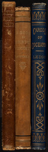 Books:Literature Pre-1900, [Poetry]. Group of Three Victorian Era Poetical Works. London:various publishers, 1868-1877.... (Total: 3 Items)