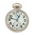Timepieces:Pocket (post 1900), Elgin 21 Jewels B.W. Raymond Up/Down Indicator Pocket Watch. ...