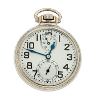 Elgin 21 Jewels B.W. Raymond Up/Down Indicator Pocket Watch