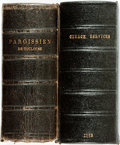 Books:Religion & Theology, [Religion & Theology]. The Book of Common Prayer... London: Printed by G. E. Eyre and W. Spottiswoode, 1859. [togeth... (Total: 2 Items)