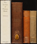 Books:Biography & Memoir, [Thomas Hood]. Group of Three Books by or about Thomas Hood. Various publisher's, latest published circa 1970s. ... (Total: 4 Items)