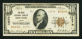 National Bank Notes:Texas, Houston, TX - $10 1929 Ty. 2 The State NB Ch. # 12070. ...