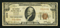 National Bank Notes:Oklahoma, Tulsa, OK - $10 1929 Ty. 1 The Exchange NB Ch. # 9658. ...
