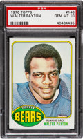 Football Cards:Singles (1970-Now), 1976 Topps Walter Payton Rookie #148 PSA Gem Mint 10....