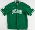 Basketball Collectibles:Uniforms, 1998-99 Kenny Anderson Game Worn Boston Celtics Warmup Jacket....