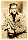 Autographs:Celebrities, Actor Cesar Romero Signed Photograph....