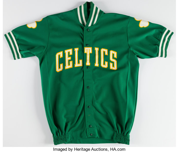 timeless design e212a 8a754 1980s Boston Celtics Game Worn Warmup Jacket.... Basketball ...