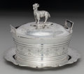 Silver Holloware, American, A Canadian Silver-Plated Covered Butter and Underplate with Cut-Glass Liner, circa 1870. Marks: (crown), (beaver), J.S. & ... (Total: 2 )