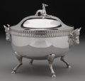 Silver & Vertu:Hollowware, A Meadows & Co. Coin Silver Figural Covered Butter, Philadelphia, Pennsylvania, circa 1860. Marks: MEADOWS & CO., PURE COI... (Total: 3 Items)
