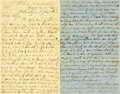 Autographs:Military Figures, [Cuba]. Captain Augustus Percival Autograph Letter Signed....