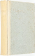 Books:Literature 1900-up, Oscar Wilde. LIMITED. The Picture of Dorian Gray. New York:Charterhouse Press, 1904. Edition limited to 800 numbere...