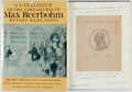 Books:Art & Architecture, [Featured Lot]. [Max Beerbohm]. Rupert Hart-Davis, editor. SIGNED/INSCRIBED. A Catalogue of the Caricatures of Max Beerb...