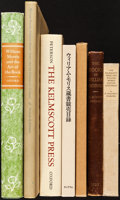 Books:Books about Books, [William Morris]. Group of Seven Books about William Morris, Edward Burne-Jones, and the Kelmscott Press. Various Publishers... (Total: 7 Items)