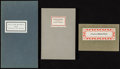 Books:Pamphlets & Tracts, [William Morris]. Group of Three LIMITED Edition Pamphlets by orAbout William Morris. Various publishers, 1958-1986....