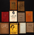 Books:Fine Press & Book Arts, [Elbert Hubbard]. Group of Ten Books Published by and about ElbertHubbard and The Roycrofters. [Mostly in East Aurora, New ...(Total: 10 Items)