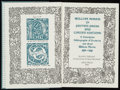 Books:Reference & Bibliography, [William Morris]. John J. Walsdorf. SIGNED. William Morris inPrivate Press and Limited Editions: A Descriptive Bibliogr...
