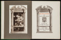 Books:Literature Pre-1900, Dante Gabriel Rossetti. FitzRoy Carrington, introduction andarrangement. Pictures and Poems. New York: R.H. Rus...
